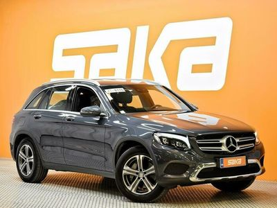 käytetty Mercedes GLC250 d 4Matic A Premium Business ** Navi / Sporttipenkit / IHC+ / ILS-LED / Nahat / P-kamera / Koukku