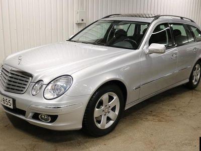 käytetty Mercedes E220 T CDI Elegance STW A. Vain 3 omistajaa! Rahoitus jopa ilman käsirahaa!