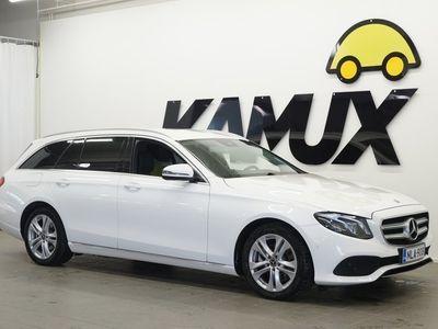 käytetty Mercedes E220 4Matic A Premium Business / Multibeam LED / Navi / Polttoainelämmitin / BLIS / Koukku / Sporttipenkit