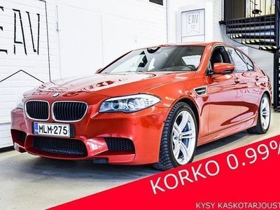 käytetty BMW M5 i A F10 Sedan SUOMIAUTO, 360-KAMERA, MERINO-NAHKA, SOFTCLOSE, KEYLESS, NAVI PROF., HIFI, HEAD-UP, RA