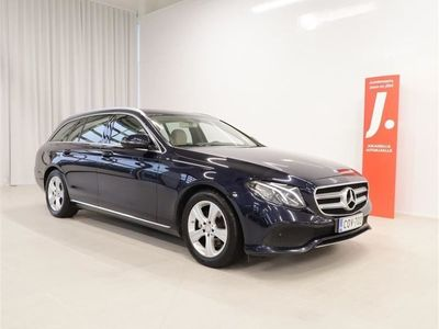 käytetty Mercedes E220 T A Premium Business 9G-Tronic 194hv *WEBASTO, NAVI, 1-OM., SUOMI-AUTO*