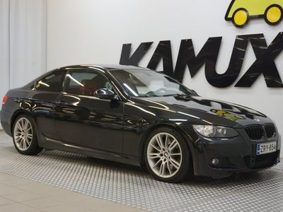 käytetty BMW 335 E92 Coupé M-Sport / 2-omistajan Suomiauto / Pro.navi / Punaset nahat / Comfort access / Adapt.vakkar