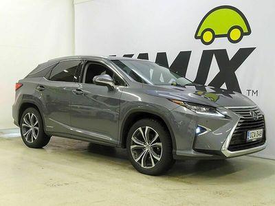 käytetty Lexus RX450h Hybrid 4WD A Comfort Tech Package // HUD / Adapt.cruise / Lämmitetty ratti / Ilmastoidut etupenkit //