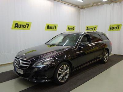 käytetty Mercedes E250 CDI BE T 4Matic Aut. Premium, WEBASTO, ADAPT. VAKKARI, NAVI, NAHAT, VARUSTELTU NELIVETO!!