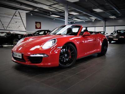 käytetty Porsche 911 Carrera 4S Cabriolet 911 991 BOSE, Sport Chrono, Ilmastoidut penkit, Tutkat, Sport-putkisto, Nahat