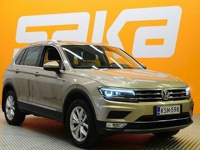 käytetty VW Tiguan Highline 2,0 TDI SCR 140 kW (190 hv) 4MOTION DSG ** SUPERVARUSTEET / Digimittaristo / Webasto / Adap