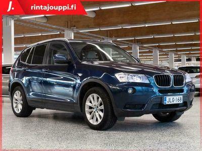 käytetty BMW X3 X3 F2520d TwinPower Turbo A Limited xDrive Edition ., 6kk kuluton ja