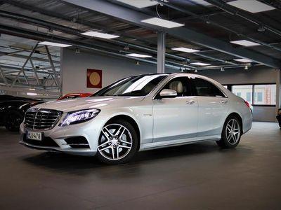 käytetty Mercedes S500 4Matic AMG Line Supervarusteet! Active Cruise, Yönäkö, 360°-Kamera, 14 000€ Exclusive-paketti!