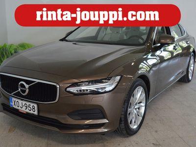 käytetty Volvo S90 D4 AWD Momentum aut - HUD / Webasto / Käätyvä koukku / Avaimeton / VOC / 1-Omisteinen