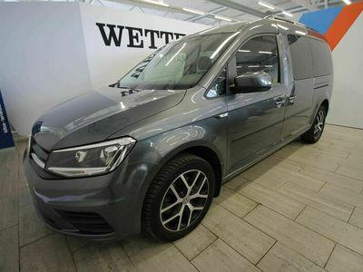 käytetty VW Caddy Maxi Trendline Business 1,4 TSI 96 DSG (MY20) *7 hlö / Juuri huollettu / Huippusiisti*
