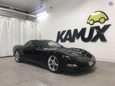 """käytetty Chevrolet Corvette Coupe 5,7 V8 AT Targa **NÄYTTÄVÄ URHEILUAUTO** """"Black Weekend - ERIKOISHINTA!"""""""