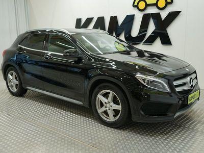 käytetty Mercedes GLA220 CDI 4Matic A AMG / Webasto kaukosäädöllä / Bi-Xenon / Neliveto / Nahkaverhoilu