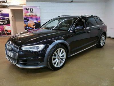 käytetty Audi A6 Allroad Business Sport 3,0 V6 TDI 160kw Quattro S tronic **FACELIFT/ Ilma-alusta / Nahka-Alcantara sporttipenkit...