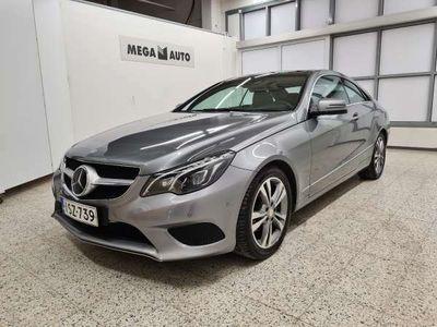 käytetty Mercedes E220 CDI BE Coupé A ** Distronic+ / Panorama / Nahat / Sporttipenkit / BLIS / Lane Assist yms. **