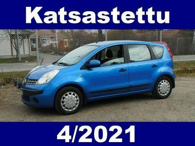käytetty Nissan Note 1,4 65 Visia 5-vaiht. 5-ov. !! KATSASTETTU 4/2021 - HYVÄKUNTOINEN KÄYTTÖAUTO EDULLISEEN HINTAAN !!