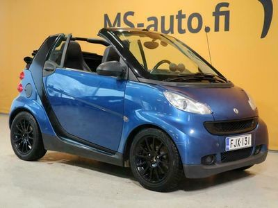 käytetty Smart ForTwo Cabrio 62 kw Passion #Nahat #Navi #Ilmastointi