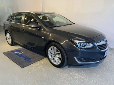 käytetty Opel Insignia Sports Tourer Edition 2,0 CDTI 125kW AT6 - Korko 1,50%*! S-bonusta 500€:n oston arvosta! Ensimmäinen