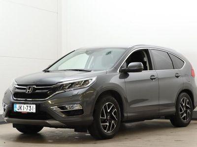 käytetty Honda CR-V CR-V 1,6 Diesel Elegance Plus 2WD (MY16) - Yksiomisteinen ja hyvillä herkuilla oleva