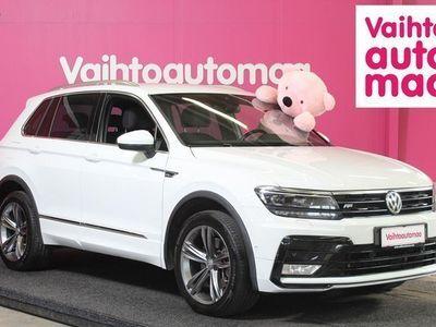 käytetty VW Tiguan 2,0 TDI SCR (190 hv) R-Line Executive DSG *Mahtavat varusteet mm. Digimittarit, Adapt LED ja cruise,