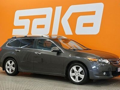 käytetty Honda Accord Tourer 2,0 Executive Business ** JUURI SAAPUNUT! / Suomi-auto / Nahkasisusta / Sähköpenkit / Lasikat