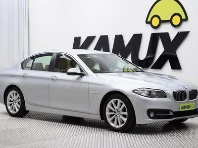 käytetty BMW 530 F10 TwinPower Turbo A Limited xDrive / FACELIFT / M-SPORT RATTI / TUTKAT/ BLUETOOTH / SPORT-PENKIT