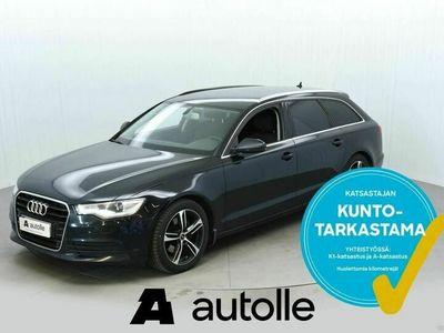 käytetty Audi A6 *NÄYTTÄVÄ*2.0TDI Avant Business 130kW Aut. Tarkastettuna, Rahoituksella, Kotiin toimitettuna!