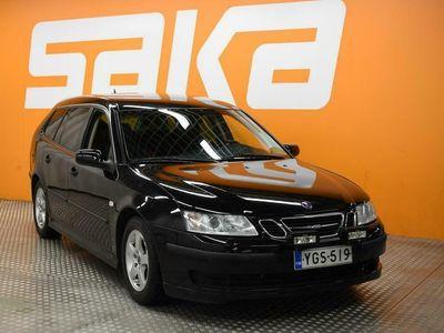 käytetty Saab 9-3 Sport Combi 1,8t Linear A5 ** Suomi-auto / Cruise / Lohkolämmitin / Kahdet renkaat aluvanteilla! **