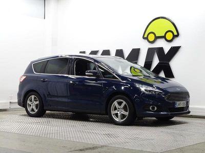 käytetty Ford S-MAX 2,0 TDCi 150hv PowerShift A6 Titanium Business 5D **SUOMI-AUTO, NAVI, WEBASTO, VETOKOUKKU**