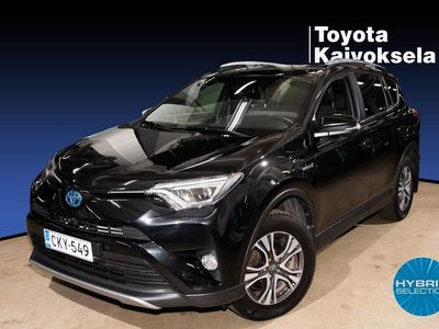 käytetty Toyota RAV4 2,5 Hybrid AWD Style Harvinainen Style malli ja Suomi-auto!