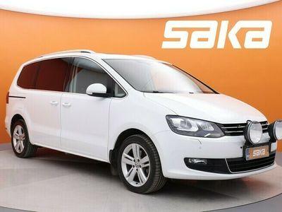 käytetty VW Sharan Comfortline 2,0 TDI 110 kW (150 hv) 4MOTION ** Lisälämmitin / Peruutuskamera / ACC / AppConnect **