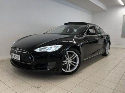 """käytetty Tesla Model S 85, 373 hv, Panoramaluukku, Kamera, 17"""" näyttö, Navigointi, Ilmainen Supercharging, AdaptVaknopsääd"""