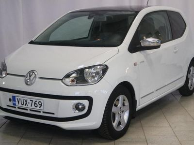 käytetty VW up! Up! white1,0 55 kW (75 hv) BlueMotion Technology 2-ov **Navi, Panorama, P.tutka**
