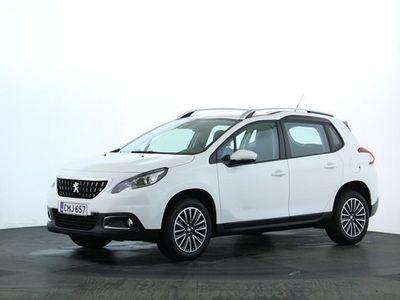 käytetty Peugeot 2008 Motion PureTech 110 EAT6-Aut.   Rahoitustarjous 1,9% ja vuoden polttoaineet kaupan päälle