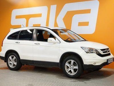 käytetty Honda CR-V 2,0i Elegance Lifestyle AT 4WD Business ** Webasto / Suomi-auto / Nahka-alcantara sisusta / Tutkat *