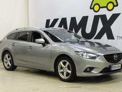 käytetty Mazda 6 Sport Wagon 2,2 (150) SKYACTIV-D Premium Plus Business 6MT 5ov TF6