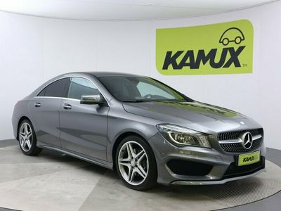 käytetty Mercedes CLA250 / Business AMG-Styling / Navi / Urheiluistuimet / Nahkasisusta / Muistipenkit