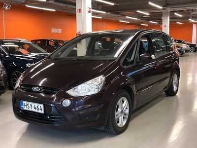käytetty Ford S-MAX 2,0 TDCi 163 hv PowerShift Trend A6 **Istuimet 7:lle / Pa lisämmitin / Lasikatto / Vetokoukku**