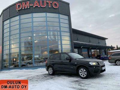 käytetty BMW X3 30d xDrive 190kw M-Paket Xenon, sport-istuimet, navi Kuntotarkastettu