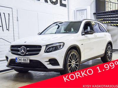 käytetty Mercedes GLC350 e 4Matic A AMG / Huippuvarusteet / Panorama / Adapt.vakkari / Kamera / Korko 1,99 % /