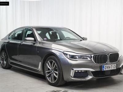 käytetty BMW 740 740 G11 Sedan d A xDrive M-Sport *Huippuvarusteet* Comfort-istuimet, B&W Sound, vetokoukku* *JOULUN K