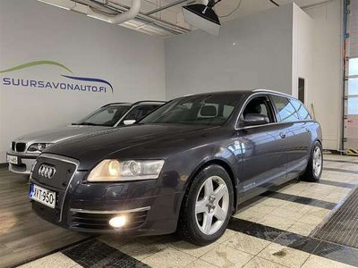 käytetty Audi A6 Avant 3,0 TDI 165 kW quattro ** BOSE / XENON / VETOKOUKKU / URHEILUISTUIMET **