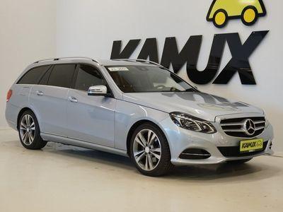 käytetty Mercedes E250 A 4Matic Avantgarde / ALV-vähennyskelpoinen / ILS / Navi / Huippusiisti /