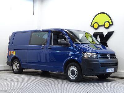 käytetty VW Transporter umpipakettiauto pitkä 2,0TDI 103kW 3200kg BMT / ALV / Webasto / Perälautanostin / Tutkat edessä ja t