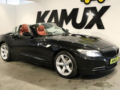 käytetty BMW Z4 sDrive 20i Steptronic +Bi-Xenon +Punainen nahkaverhoilu +2xParkkitutka+Bluetooth