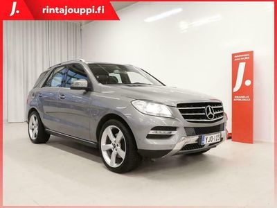 käytetty Mercedes ML350 BlueTec 4Matic Sport 7G-Tronic 258hv *WEBASTO, KOUKKU, NAVI, HYVIN HUOLLETTU*