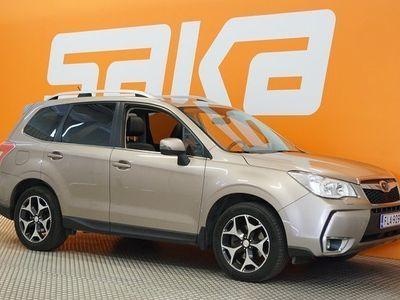 käytetty Subaru Forester 2,0 XT CVT ** 241hv / Suomi-auto / P-kamera / harman/kardon / Eber / Keyless / Panorama / Sähköluuk
