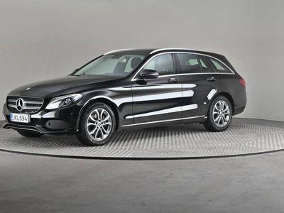 käytetty Mercedes C200 T Edition 4MATIC -Vetokoukku-