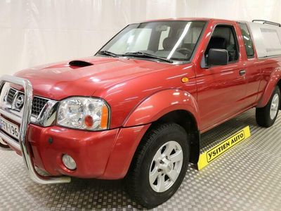 käytetty Nissan King Pickup 2.5 DiCab 4wd, Sis. ALV 24%
