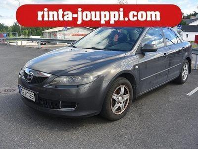 käytetty Mazda 6 2,0 Elegance 6MT 4d U10 - Juuri katsastettu, Ilmastointi, Vetokoukku!