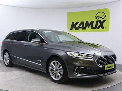 käytetty Ford Mondeo 2.0 Hybrid Vignale Wagon // Hyvin varusteltu / Hierovat & ilmastoidut penkit / Android Auto & Apple CarPlay //